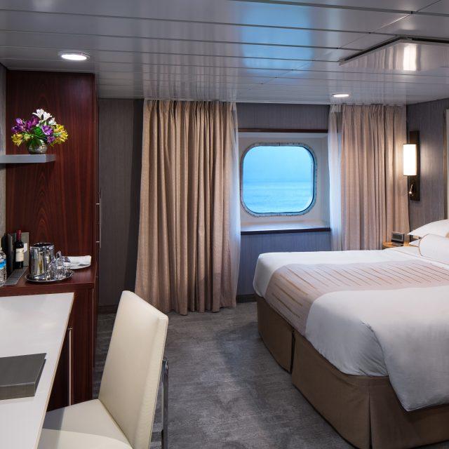 China & Japan with Azamara Club Oceanview Stateroom ADAClub Oceanview Stateroom ADA - Room #4051 Deck 4 Midship Starboard.Azamara Journey - Azamara Club Cruises