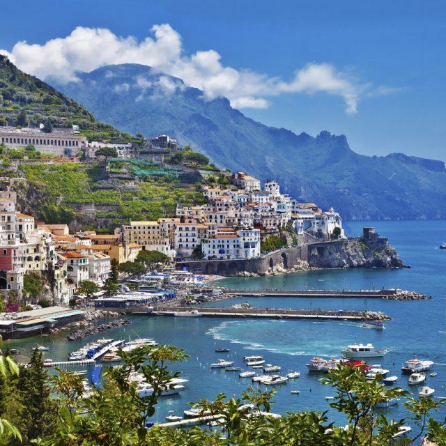 Arabian Nights to European Delights Italy, from Naples - Amalfi