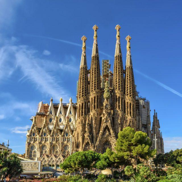 Arabian Nights to European Delights Spain, Barcelona - Cathedral of La Sagrada Familia