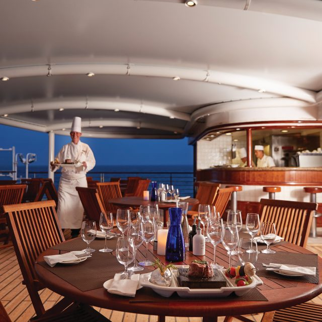 Luxury South Pacific Islands Cruise The Grill, Silver Explorer