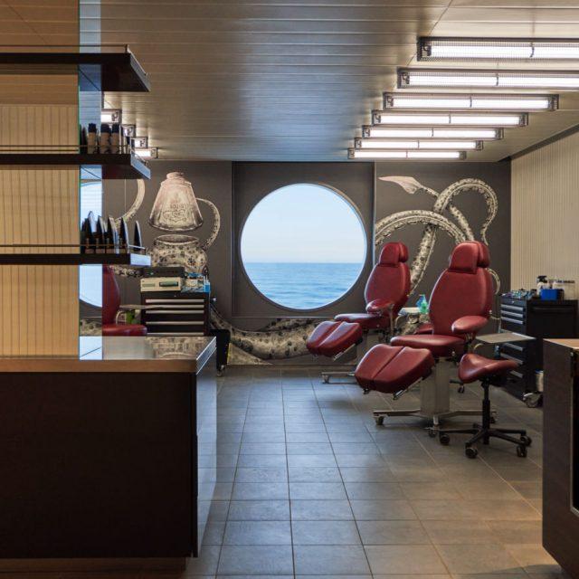 French Glamour & Sardinia Sights Squid Ink tattoo studio