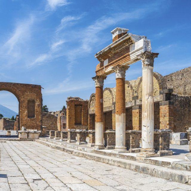 Arabian Nights to European Delights Italy, from Naples - Pompeii