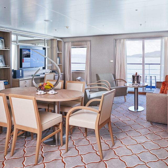World Cruise with Silversea Grand Suite, Silver Shadow