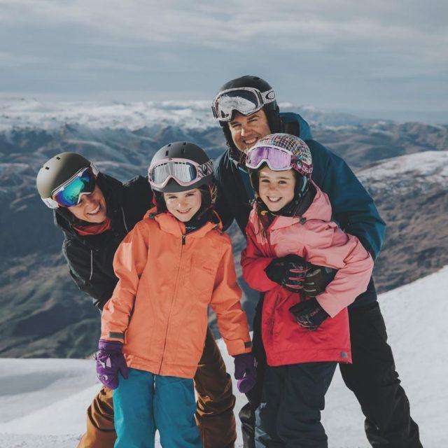Family Ski Queenstown