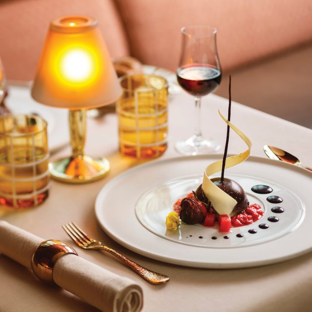 World Cruise with Silversea La Dame, French Restaurant, Silver Spirit